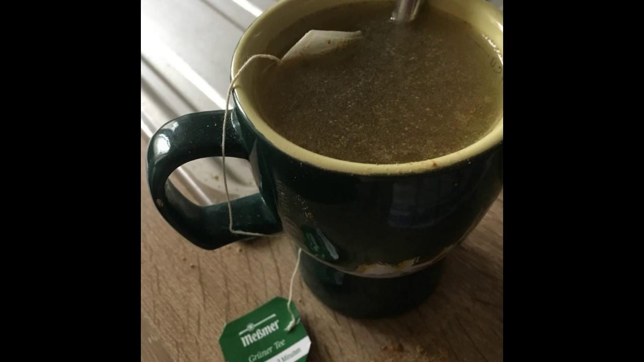 tè dimagrante con zenzero e cannella