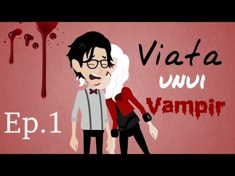 Viaţa unui Vampir - Prima zi de liceu (Episodul 1) #SerialAnimat