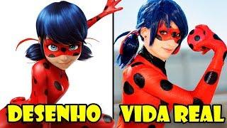 Os personagens de Miraculous: As aventuras de Ladybug na vida real