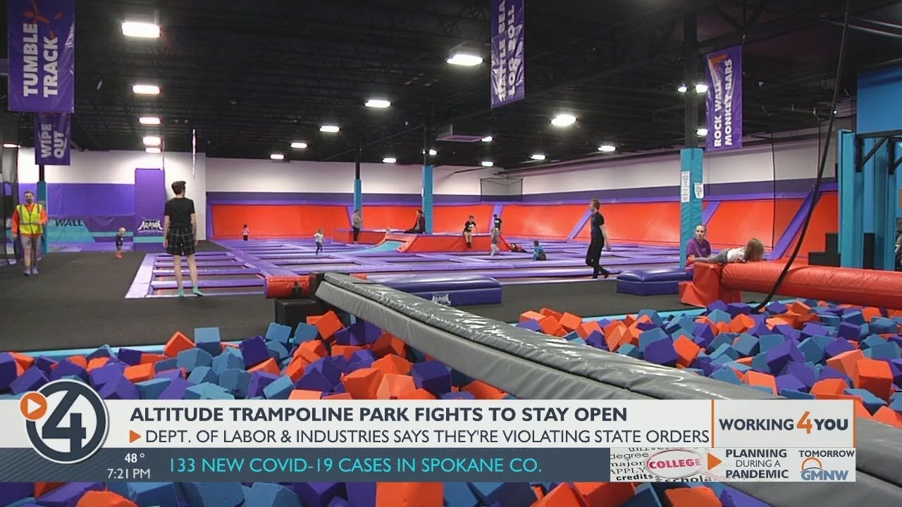 Download Altitude Trampoline Park fights to stay open