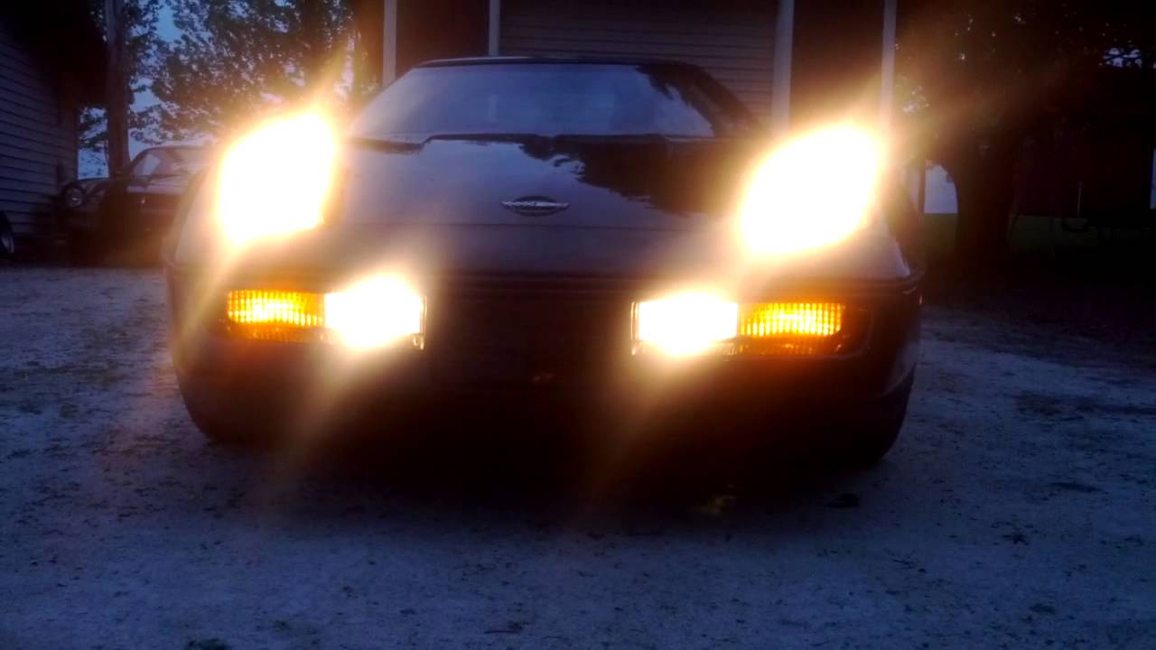 C4 Corvette Pop Up Headlights