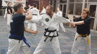 Multiple Attack Self Defense Techniques