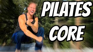 10 min Pilates Workout for Core With Sean Vigue Fitness