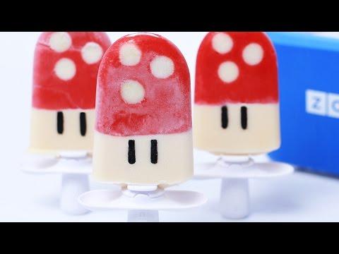 Save SUPER MARIO MUSHROOM POPSICLES - NERDY NUMMIES Pics
