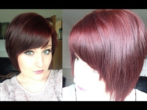 Dying My Hair Plum Passion Youtube