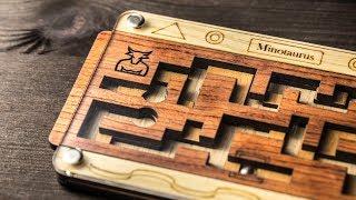 Minotaurus maze with pair of balls.