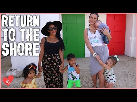 Snooki and JWOWW Return to the JERSEY SHORE!  MomsWithAttitude Moment