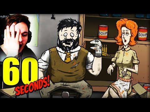 ICH HABE DIESES SPIEL NOCH NIE GEWONNEN !! [WTF] | 60 Seconds