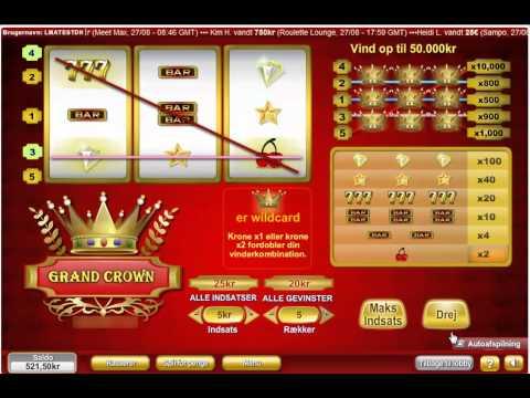 Spilleautomat grand crown