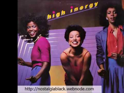 HIGH INERGY - HEAVEN'S JUST A STEP AWAY (everytime i hold you)