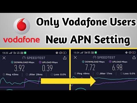 Vodafone APN Setting For High Speed Internet / Vodafone Internet Setting  2019