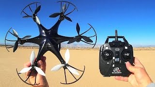 RC Leading RC126 Hexacopter Drone Flight Test Review