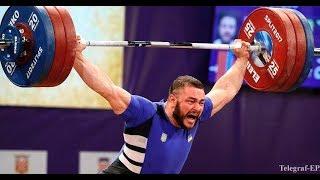 Ukrainian weightlifting championship 2017 kat.105kg