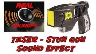 Taser or stun gun sound effect - police realsoundFX