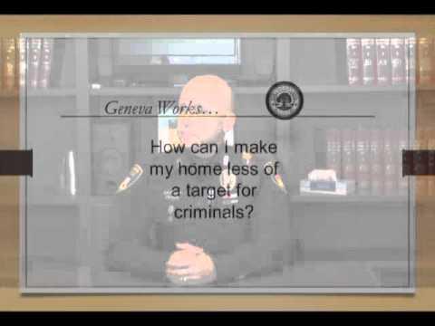 """""""Geneva Works"""" - Police Department Crime Prevention - Geneva, IL"""