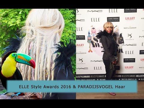 VLOG 2: ELLE Style Awards 2016 + PARADIJSVOGEL haar en VEEL MEER...