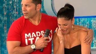 Sandra Arana llora porque piensa que Milett Figueroa la