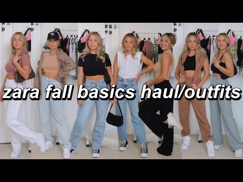 ZARA FALL BASICS HAUL | Transitional Pieces & Outfit Ideas!