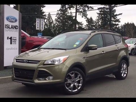 2013 ford escape sel leather sunroof power liftgate review island ford youtube. Black Bedroom Furniture Sets. Home Design Ideas