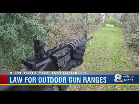IS IT LEGAL? Shooting Firearms In Your Florida Backyard
