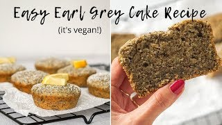 How I Veganized Bon Appétits Earl Grey Yogurt Cake  Molly Baz Inspired Recipe