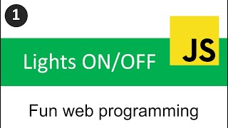 1. Fun web programming for kids - Switch On/Off the light Thumb