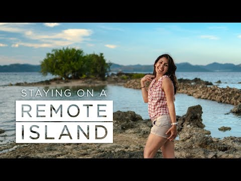 Staying on a REMOTE ISLAND - Philippines Vlog (Episode 9)