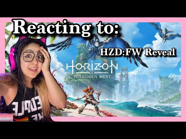 FIRST LOOK! Horizon Zero Dawn: Forbidden West Reaction