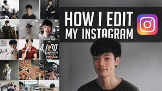 How I edit my Instagram photos | แต่งรูปลง IG สไตล์ Here's Jae