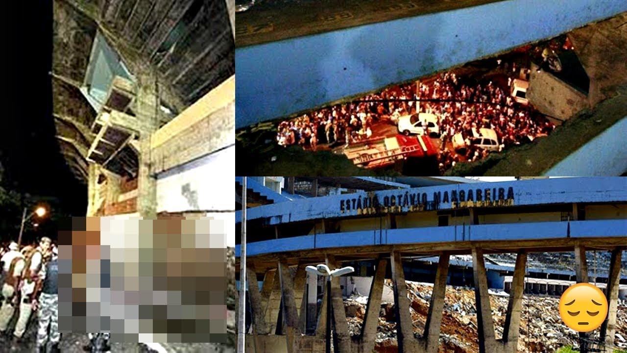 A chocante tragédia do estádio da FONTE NOVA em 2007