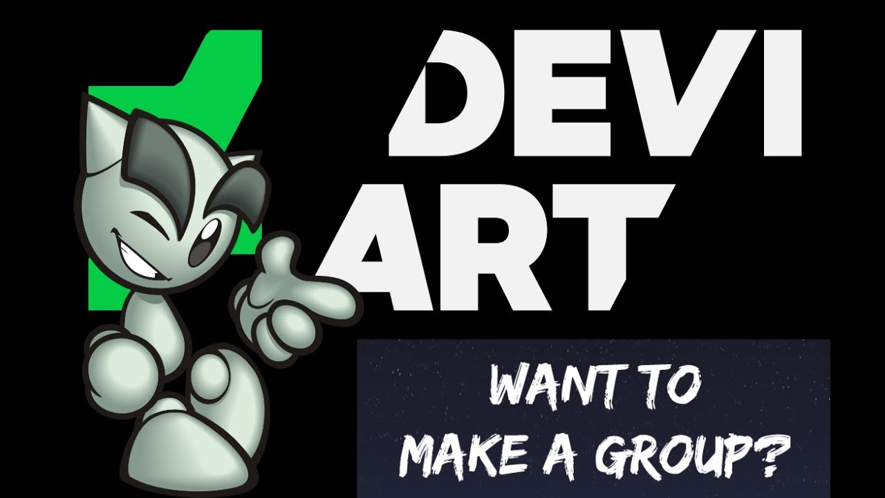✅How To Make/Manage A Group On DeviantArt