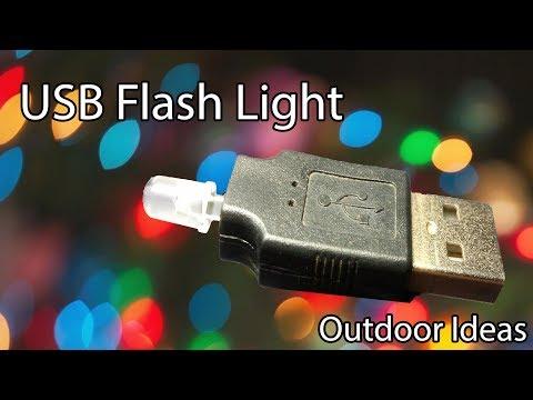 Making USB Light At Home ||  DIY Mini LED Music Lamp | Outdoor Ideas