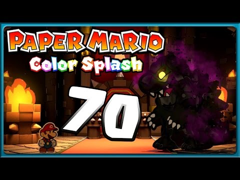 PAPER MARIO: COLOR SPLASH Part 70: Brutal krasser Final Fight gegen Black Bowser