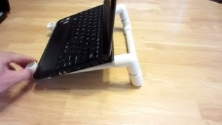 How To Make A Laptop Stand With Pvc