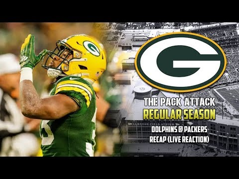 Green Bay Packers   Regular Season   Dolphins @ Packers Reaction (LIVE)