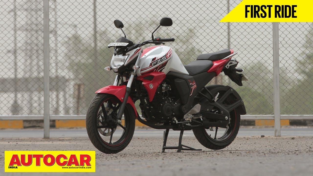 Yamaha FZ-S V2 0   First Ride   Autocar India