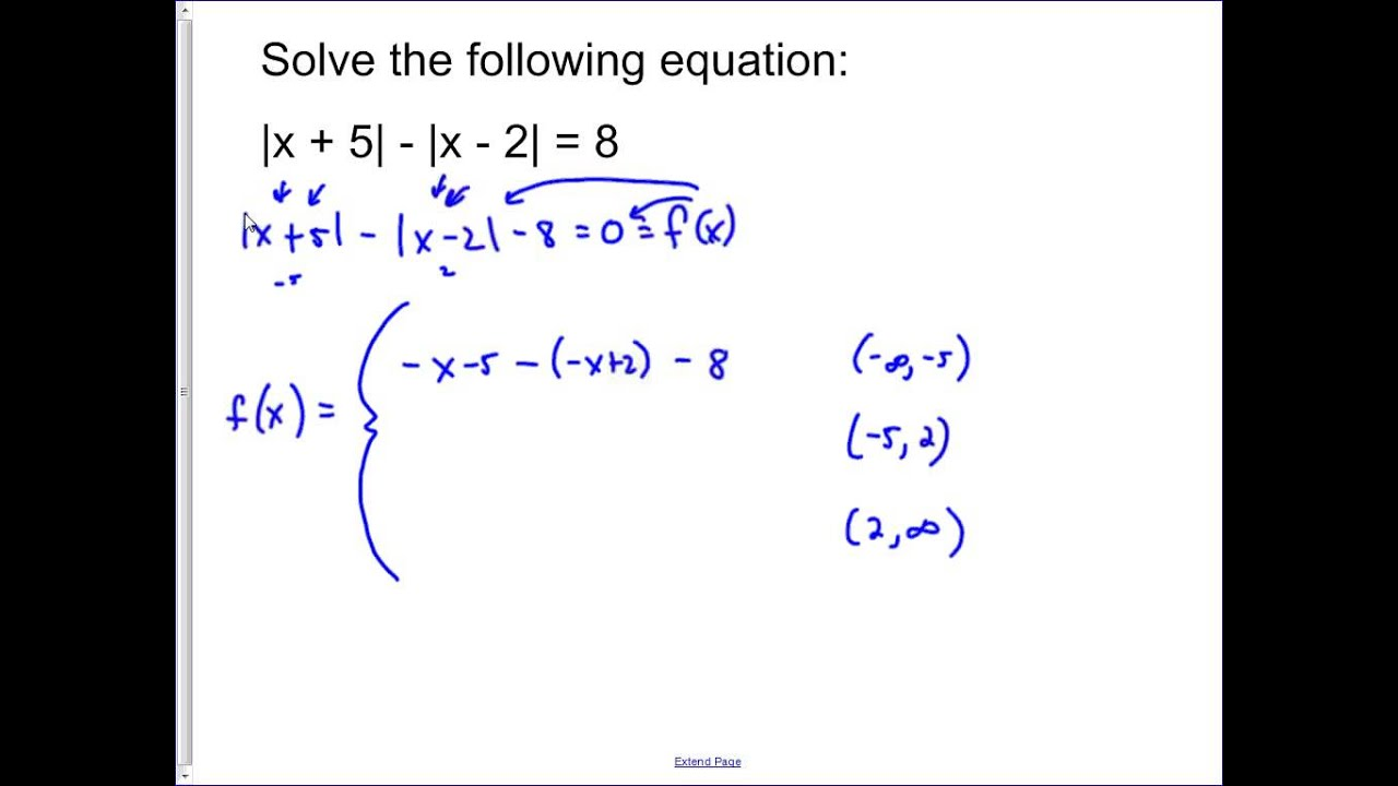 Complex Absolute Value Example 1 Youtube
