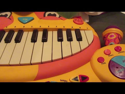 How to Play  Jeffy Why Song On A CAT PIANO!!!!!