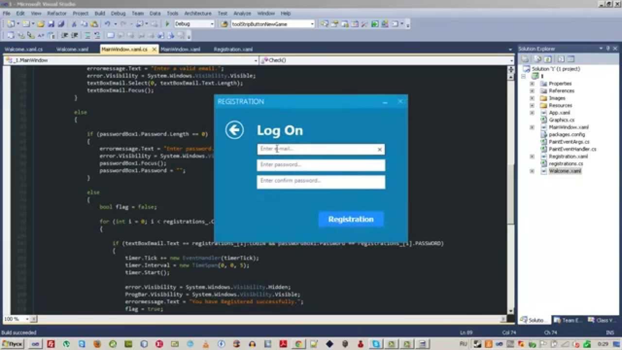Sign In  U0026 Log On Wpf C  Xaml Windows 8 Modern Ui