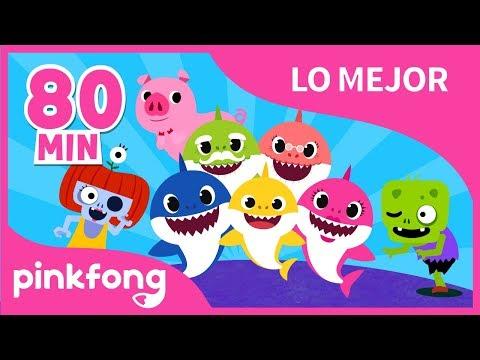 Lo Mejor de Todo en Canciones Infantiles 1  +Recopilación  Pinkfong Canciones Infantiles