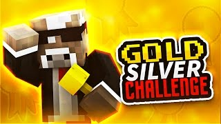GOLD AND SILVER CHALLENGE!! ( Minecraft Lab Rush w/ Vikkstar123 & TheCampingRusher )