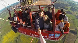 HOT AIR BALLOON FLIGHT | YORK | ENGLAND