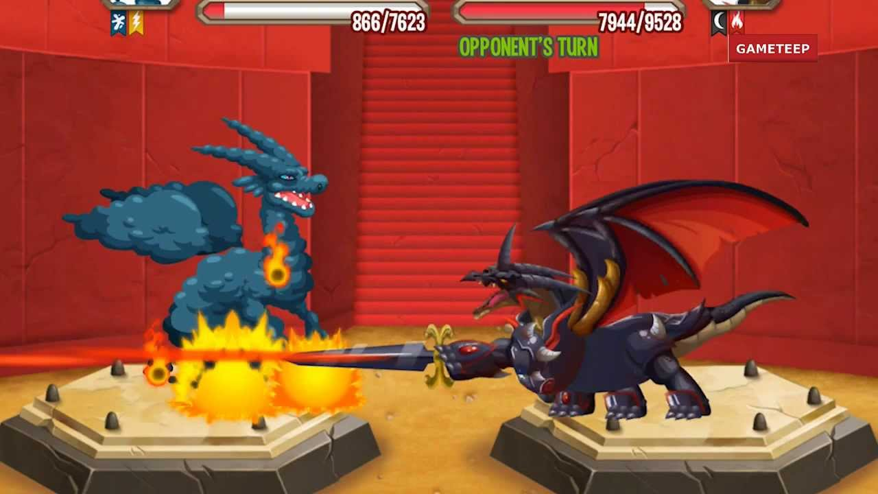Dragon City Castle Island Battle