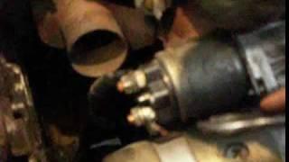 запуск двигателя при неисправном втягивающем рeле