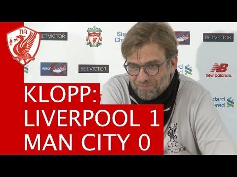 Liverpool 1-0 Manchester City: Jurgen Klopp's Post-Match Press Conference