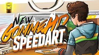 GommeHD's New YT Banner! (SpeedART)