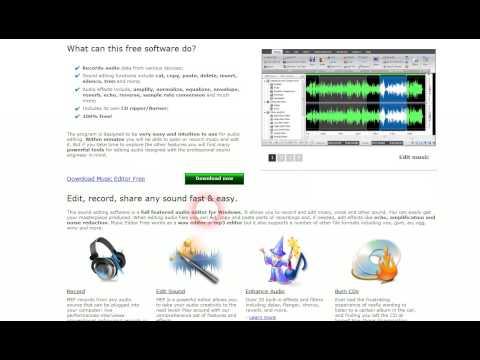 Music Editor Free 2012