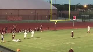 Michael's touchdown catch