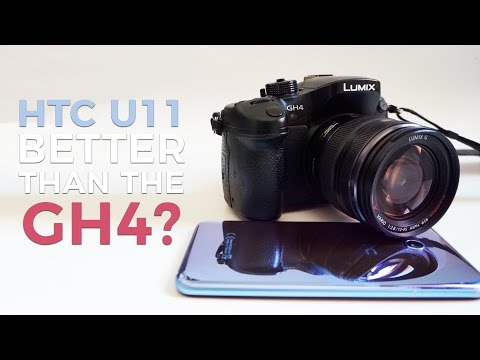 HTC U11 versus GH4: camera shootout