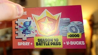REDEEM 2,000 FREE V BUCKS + FREE SEASON 10 BATTLE PASS NOW! (Fortnite)